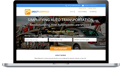 angular automotive web